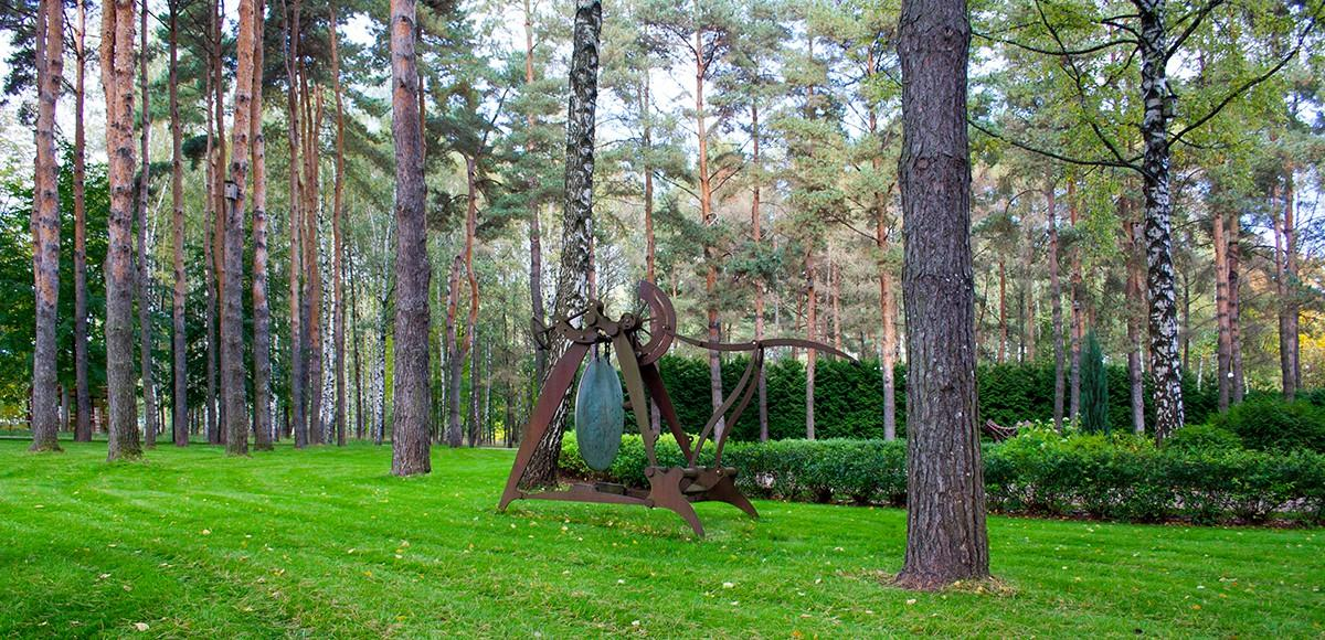 Арт объект «Гонг», курорт Пирогово