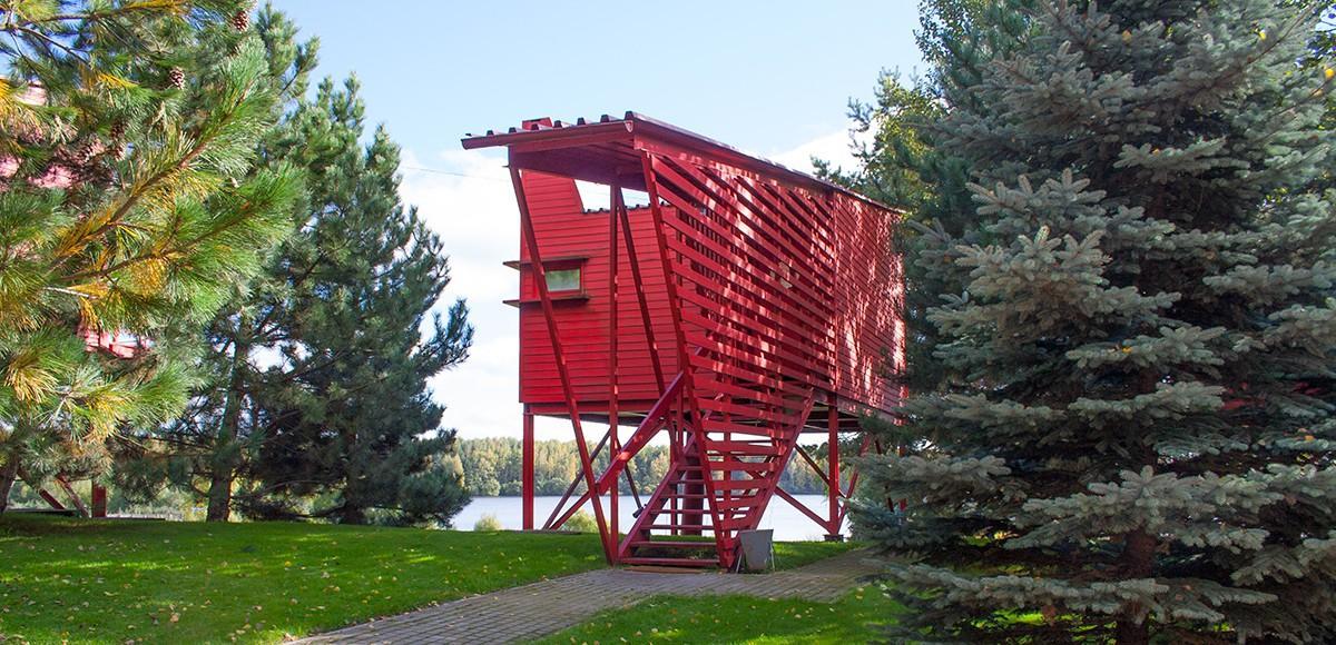 Гостевой домик с видом на водохранилище, курорт Пирогово