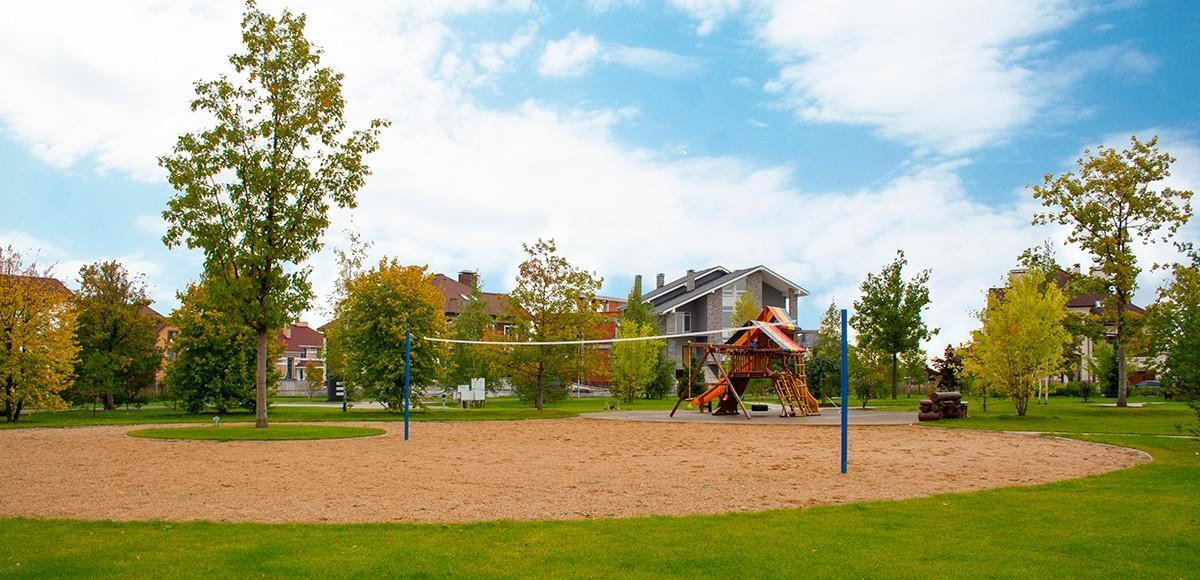 Площадка для спортивных игр, КП Новорижский