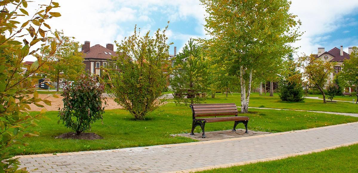 Благоустроенные зоны отдыха в КП Новорижский