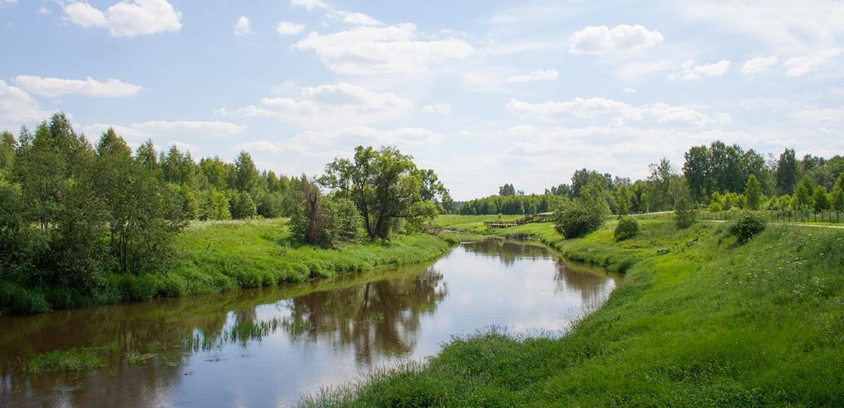 Река Истра во всем своем великолепии, КП Кристалл Истра