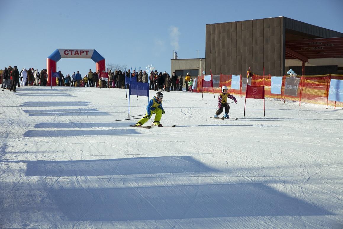Детский соревнования в КП Кристалл Истра