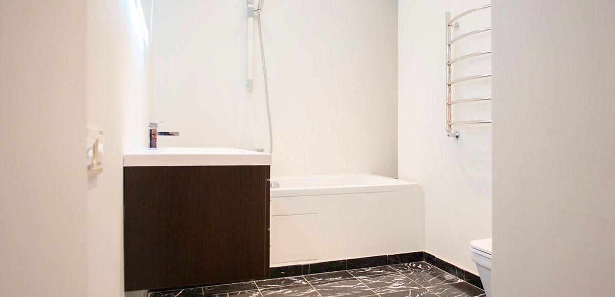 Ванная №1, вид 2, квартира 7, Усово