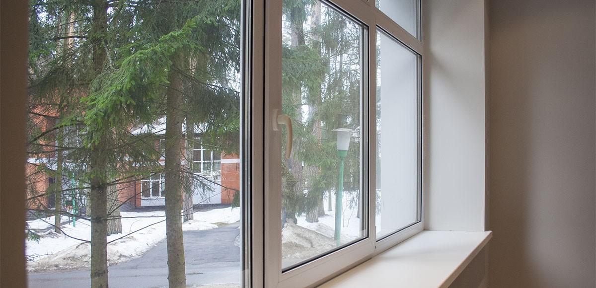 Вид из окна гостевой спальни, квартира 7, Усово